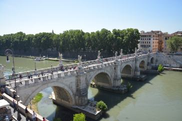 View from Castle Sant'Angelo