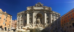 Trevi fountain...